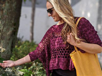 Contessa Cropped Sweater Free Pattern