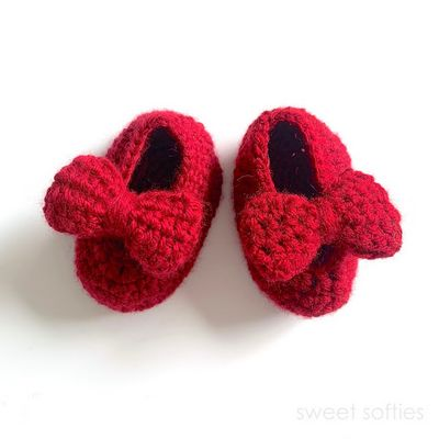 Crochet Baby Mary Jane Shoes Free Pattern With Video Tutorial