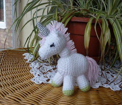 Crochet Charley the Unicorn