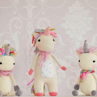 Crochet Twinkle Toes The Unicorn Pattern