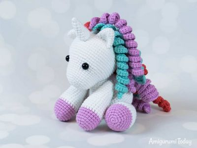 Free Baby Unicorn Crochet Amigurumi Pattern