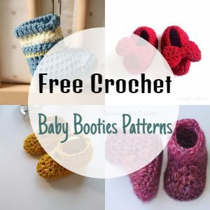 Free Crochet Baby Booties Patterns