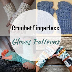 Free Crochet Fingerless Gloves Patterns