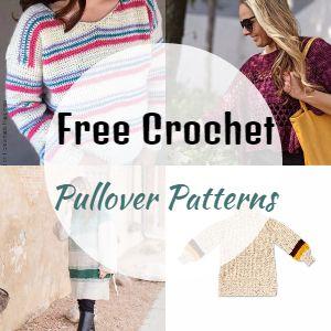 Free Crochet Pullover Patterns