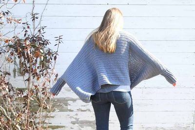 Free Ellie Crochet Sweater Free Pattern