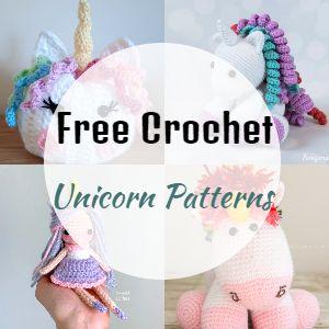 Free Unicorn Crochet Patterns
