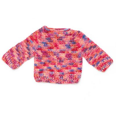 Hurry Down Crochet Pullover Pattern