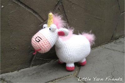 Lil' Fluffy Crochet Unicorn