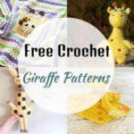 15 Cute Free Crochet Giraffe Patterns
