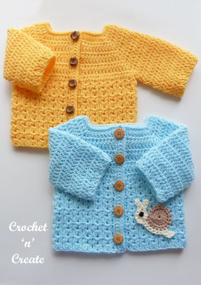 Matinee Crochet Jacket Pattern For Baby