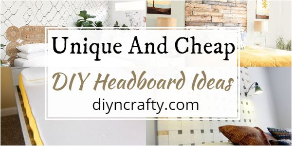Cheap DIY Headboard Ideas