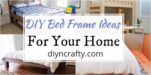 DIY Bed Frame Ideas