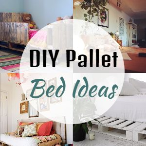 DIY Pallet Bed Ideas