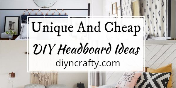 Unique And Cheap DIY Headboard Ideas