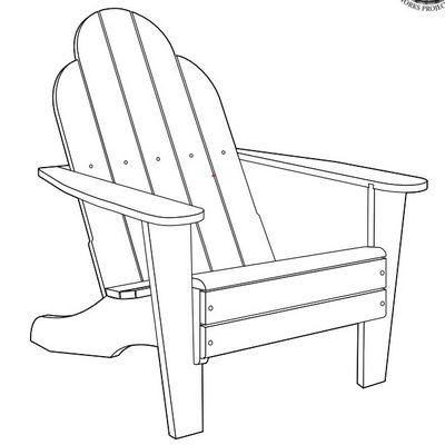 Advanced Project Adirondack Chair