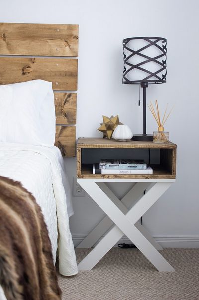 DIY Nightstands & Headboard