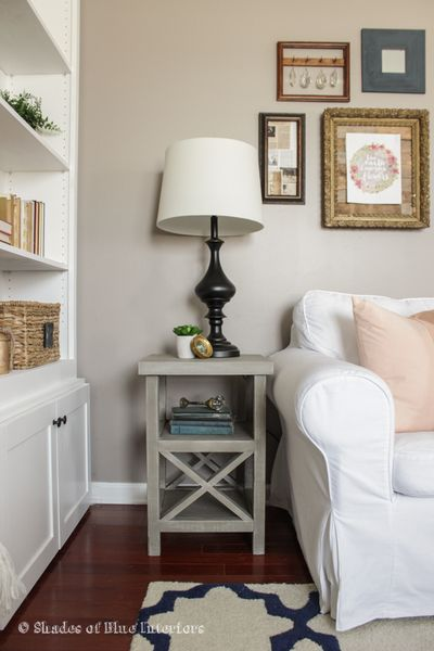 Small X End Table + Free Plans!