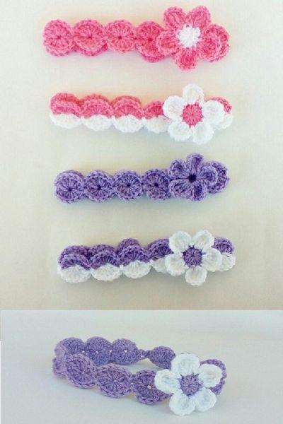 Cozy Headband Pattern For Baby Girl
