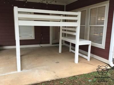 DIY Easy Loft Bed