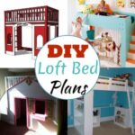 20 Free DIY Loft Bed Plans For Adults And Kids