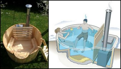DIY Wood-Fired Hot Tub