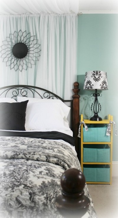 Master Bedroom Bed Canopy Curtains