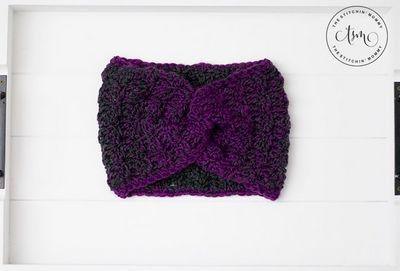 Mulberry Wine Crochet Earwarmer Pattern