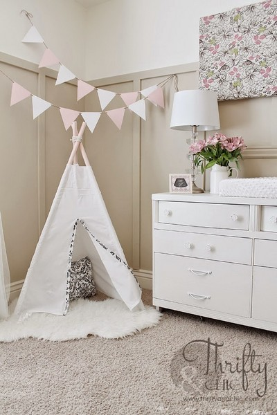 Whimsical Canopy Tent Or Reading Nook