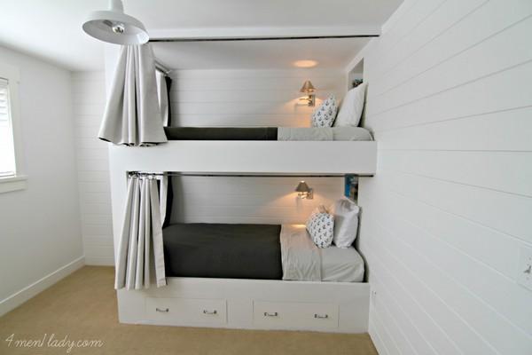 DIY Bunk Beds And Bedroom Reveal
