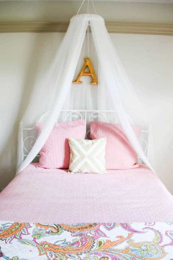 Easy Way to Make Your Own Bed Canopy