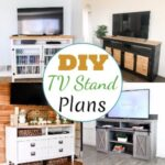 20 Free DIY TV Stand Plans You Can Make Right Now