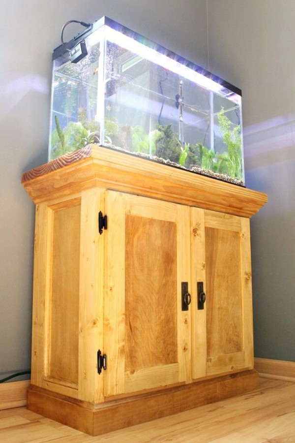 How To Build An Aquarium Cabinet Stand