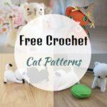 45 Easy Free Crochet Cat Patterns