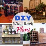 Functional Free DIY Wine Rack Plans & Ideas