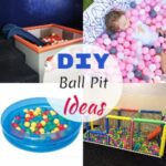 Homemade DIY Ball Pit Ideas And Designs