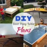10 Free DIY Beer Pong Table Plans You Can Make Easily