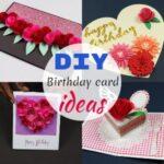Easy Homemade DIY Birthday Card Ideas