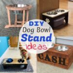 DIY Dog Bowl Stand Plans & Ideas For Your Pet