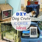 Multiple DIY Dog Crate Cover Ideas And Designs