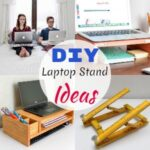10 Easy DIY Laptop Stand Ideas