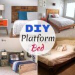 10 DIY Platform Bed Plans And Ideas