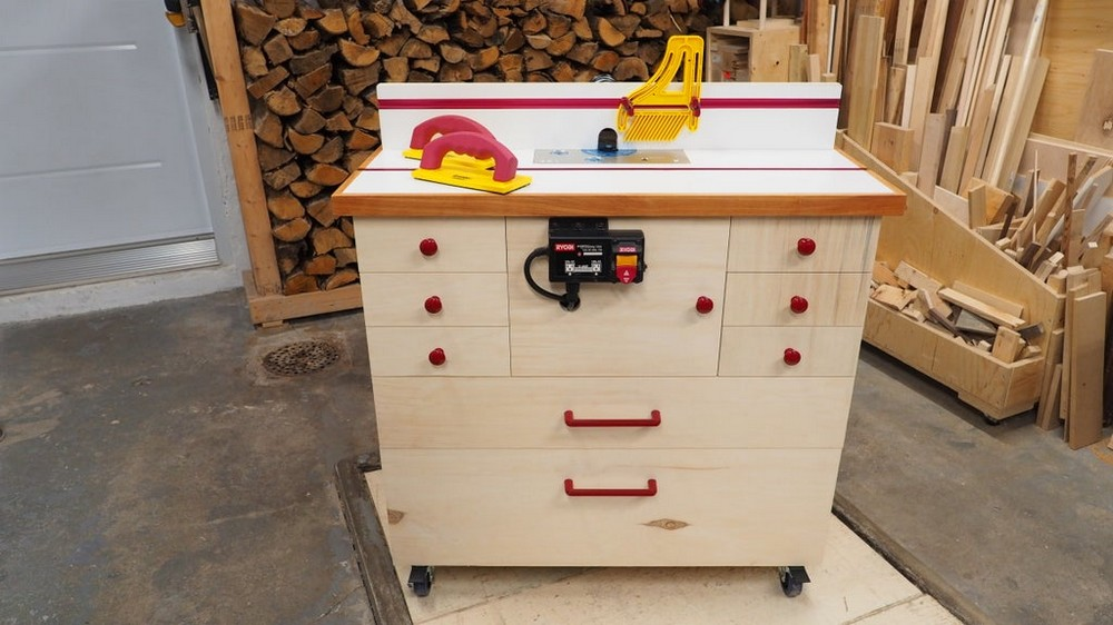 DIY Router Table Cabinet