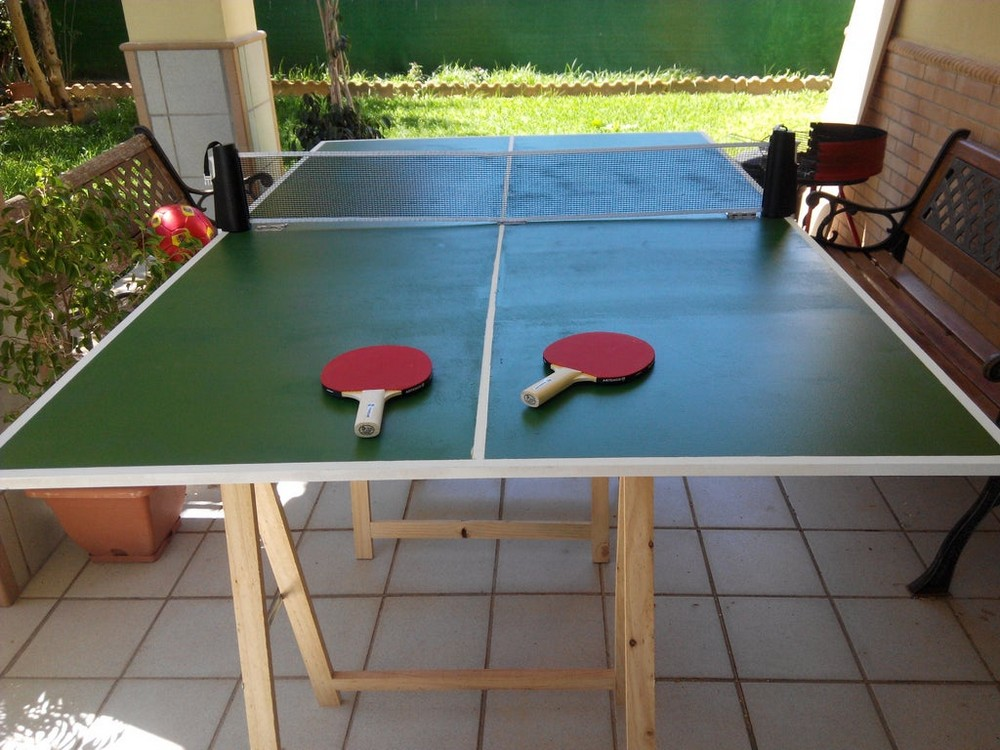 Easy Folding Ping-pong Table