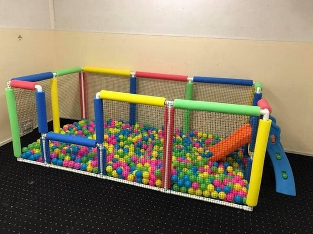 How To Build A Ball Pit From Pvc
