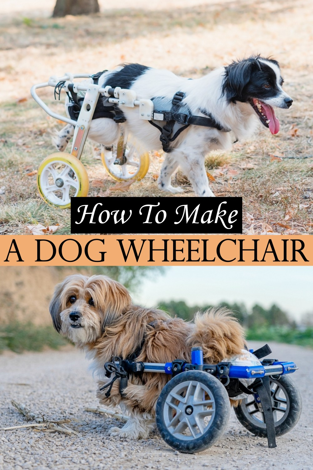 How To Make A Dog Wheelchair