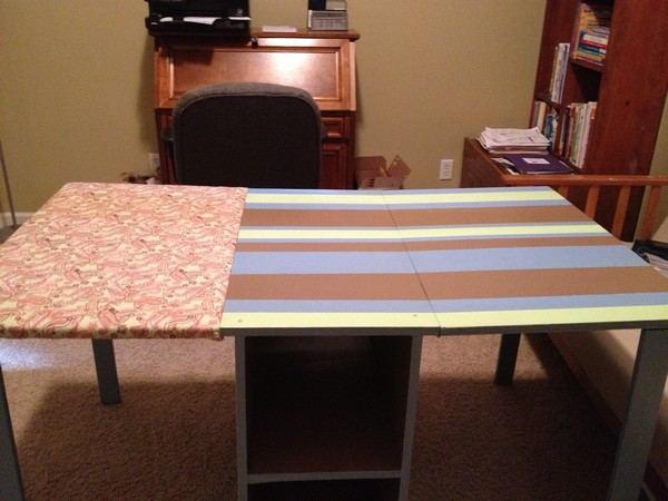 Extra Long Big Sewing And Ironing Board Table Build