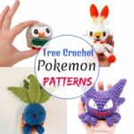 10 Creative Free Crochet Pokemon Patterns
