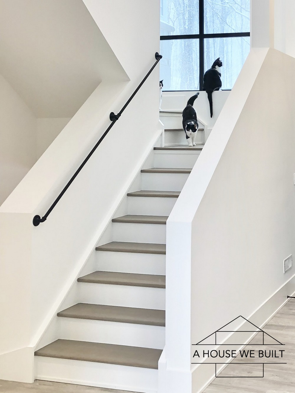 How To Build Industrial Stair Railings