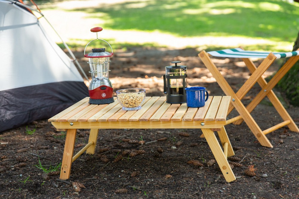 How To Make A DIY Folding Camping Table