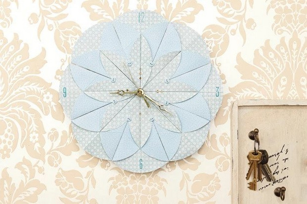 How To Make A Paper Clock